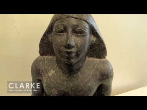 Egyptian Scribe Sculpture | Classical Egyptian Sculpture | Egyptian Sculpture