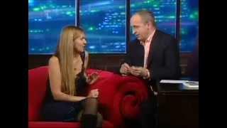 Martina Formanová v talkshow Jana Krause Uvolněte se prosím / Martina Forman on Jan Kraus Show