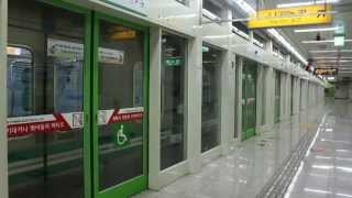 [FHD]大邱都市鉄道2号線2000系嶺南大行 多斯駅発車