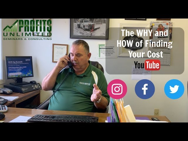 How to Build/Grow Your Lawn and Landscape Business: Finding Your Cost