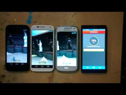 MOTO G vs MOTO X vs Galaxy S4 mini vs Xperia ZQ performance review