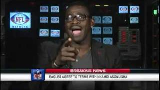 Michael Irvin Goes Crazy