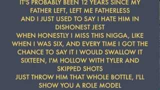 Earl Sweatshirt - Chum (LYRICS ON SCREEN) Extended Version w/ Download