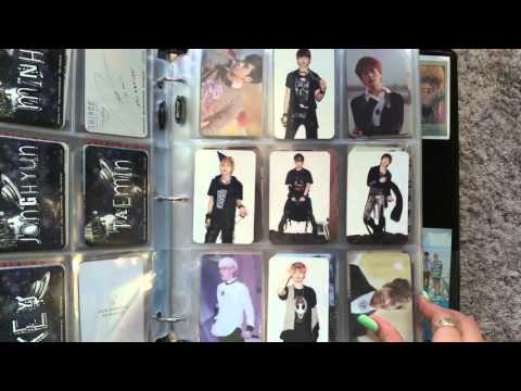 My SHINee Collection Part 1: Photocards [HD]