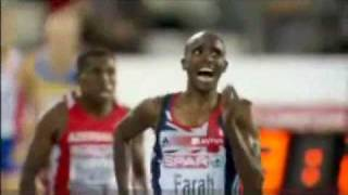 Mo Farah completes historic double Gold 5,000m & 10,000m at European Athletics Championships 2010