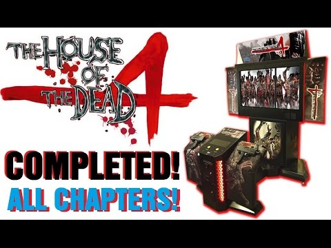 House Of The Dead 4 Completed All Chapters Youtube