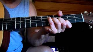 fingerpicking guitar: don't think twice it's all right, '63