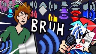 Bruh Eater (God Eater + Bruh Sound Effect #2) [Friday Night Funkin Shaggy Mod]