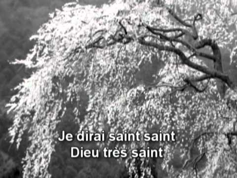 Dieu est Saint (Holy, Holy) - Paroles (lyrics)