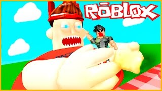 Roblox - ESCAPA DEL GORDO!! (FAT GUY OBBY IN ROBLOX)