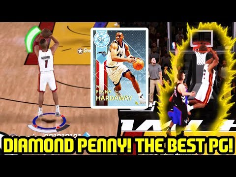 DIAMOND PENNY HARDAWAY! BEST POINT GUARD IN THE GAME! NBA 2K18 MYTEAM GAMEPLAY