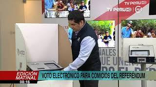 Referéndum 2018: así funcionará el voto electrónico