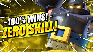 #1 EASIEST MEGA KNIGHT DECK in CLASH ROYALE HISTORY!! 100% WINS!! 🏆