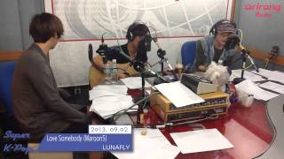 [Super K-Pop] LUNAFLY SHOOT (130902) - Payphone, Love Somebody (Maroon5)