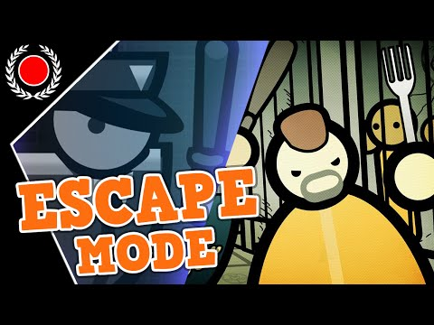 ESCAPE MODE! - Prison Architect - LIVE!