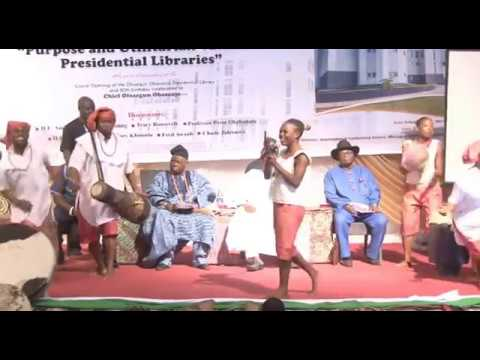 Obasanjo Presidential Library Boasts Of 15 Million Documents!