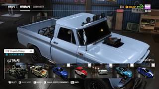 NFS PAYBACK: CHEVY C10 OFFROAD SUPER BUILD
