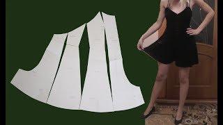 Обзор платья-шорты | Моделируем платье- шорты