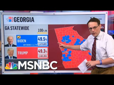 2M Votes Already Cast As Georgia Voters Turn Out To Vote Ahead Of Senate Runoffs | Stephanie Ruhle
