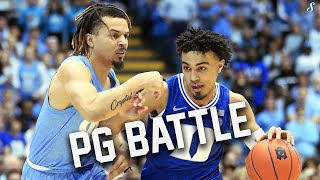 Cole Anthony & Tre Jones Go At It In The Tobacco Road Rivalry | Duke vs UNC Full Highlights 2.8.20
