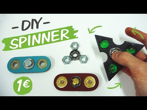 Thumbnail: Como hacer un SPINNER / How to make a Spinner Fidget Toy