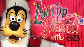 Light Up The Season With D23 at The Walt Disney Studios