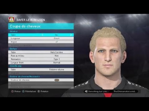 [PES 2018] BAYER 04 LEVERKUSEN players face & hair