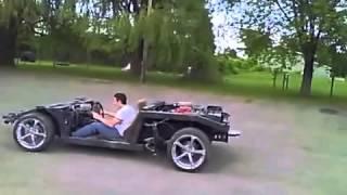 lamborghini replica chassis with v8 testing muffler options borla xr1 racing muffler new hd