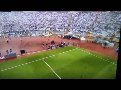 Bola entregue por drone na taça de Portugal