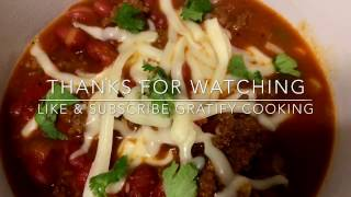 Small Red Beans Chili with Ground Meat Recipe