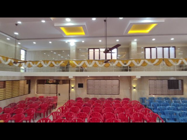 Marriage Hall Project Full Interior View | South Facing Marriage Hall @GIRI HOMES