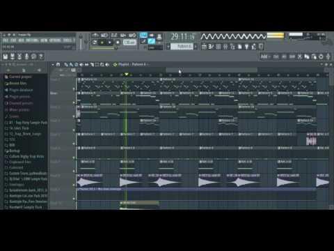 Trap/Rap Beat In FL Studio 12 - FLP