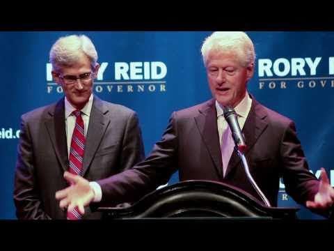 Rally for Rory Reid with President Bill Clinton (Full Length)