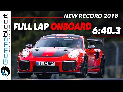 Porsche 911 GT2 RS MR RECORD Nürburgring (6:40.3) – FULL LAP ONBOARD
