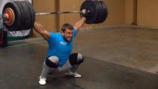 Dmitry Klokov - Full Snatch - 186 kg , Chile, Santiago