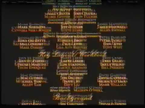 Beauty And The Beast (1991) End Credits (PAL)