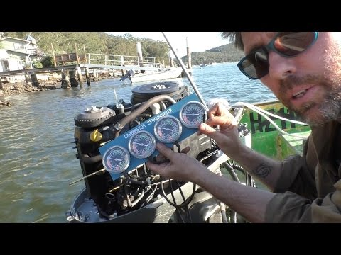 Outboard carburettor tuning