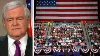 Video Gingrich: Trump doing better in America than in news media download MP3, 3GP, MP4, WEBM, AVI, FLV Juni 2017