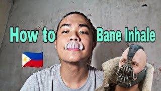 Paano mag bane inнale | How to BANE INHALE | Tagalog version 🇵🇭