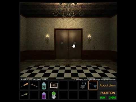 Black And White Room Escape Walkthrough