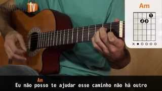 Acima do Sol - Skank (aula de violão simplificada)