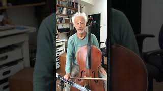 Cello with Timothy Kraemer - string crossing exercise for beginner and pre-grade 1