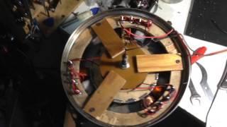 як зробити мотор колесо своїми руками