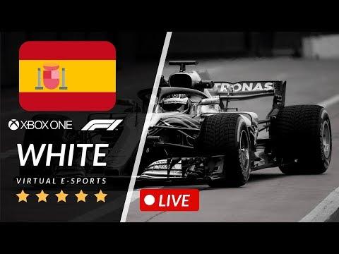 F1 2019 E-SPORTS ESPANHA WHITE 3T 5ETAPA XBOX ONE