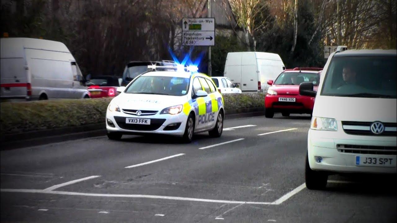 Gloucestershire Constabulary - Vauxhall Astra IRV ...