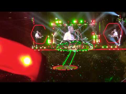 Coldplay Sandiego - Life Is Beautiful (live)
