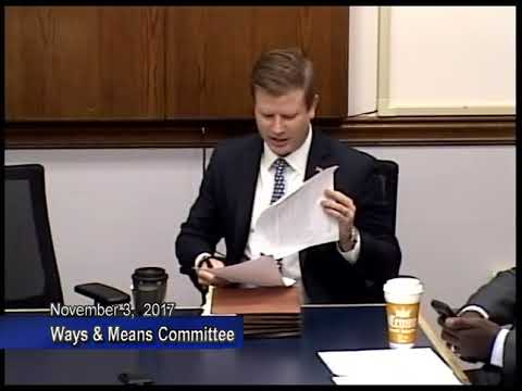 Ways and Means Committee - November 3, 2017