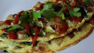 Fried Onion Frittata - An Italian Omelette