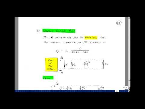 ECE201msu: Chapter 2 - Current Divider Rule