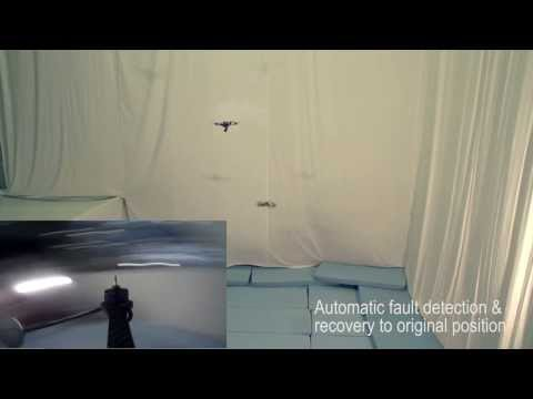 Quadrocopter failsafe algorithm: recovery after propeller loss